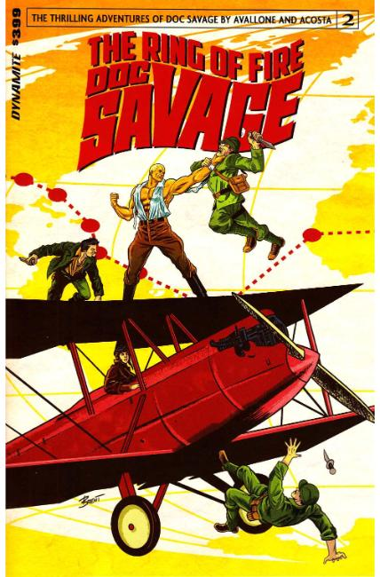 Doc Savage Ring of Fire #2 Cover A [Dynamite Comic]
