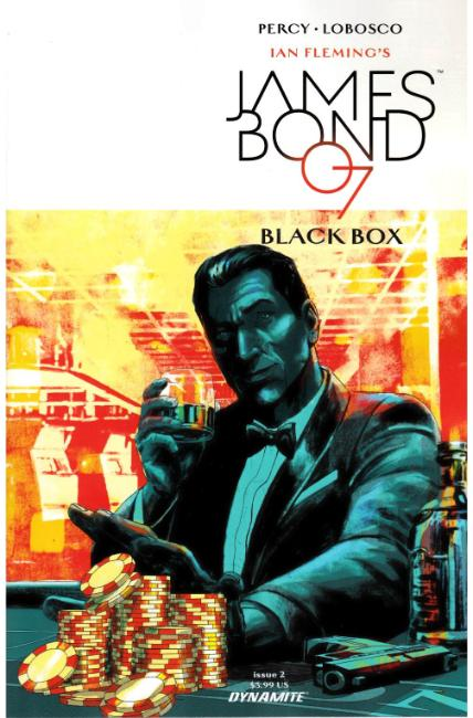James Bond #2 Cover B [Dynamite Comic]