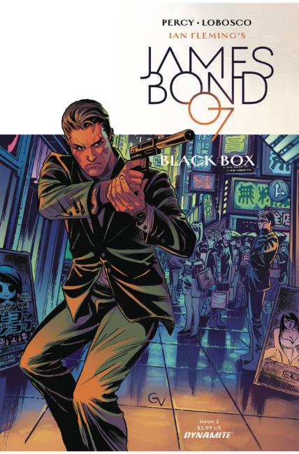 James Bond #2 Cover C [Dynamite Comic]