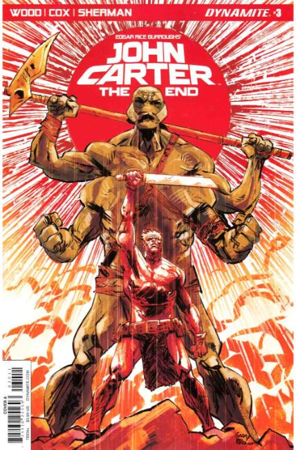 John Carter the End #3 Cover A [Dynamite Comic] THUMBNAIL