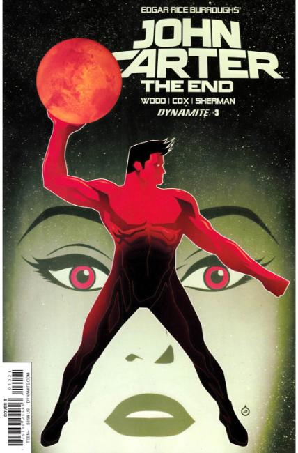 John Carter the End #3 Cover B [Dynamite Comic] THUMBNAIL
