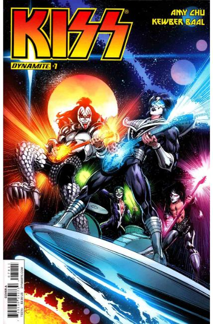 KISS #7 Cover A [Dynamite Comic] THUMBNAIL