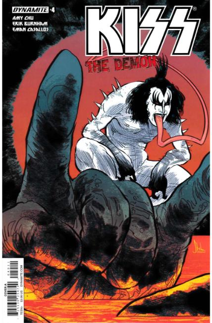 KISS Demon #4 Cover A [Dynamite Comic] THUMBNAIL