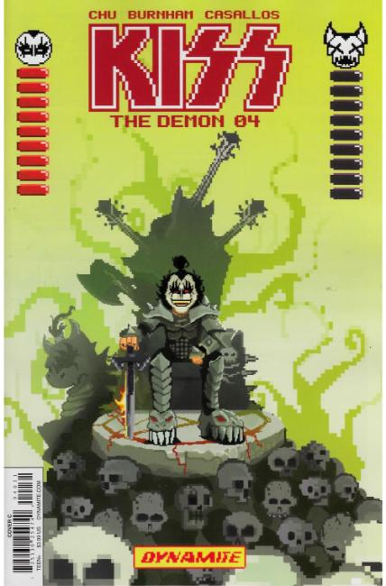 KISS Demon #4 Cover C [Dynamite Comic] LARGE