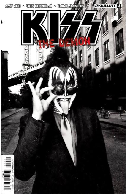 KISS Demon #4 Cover D [Dynamite Comic] LARGE