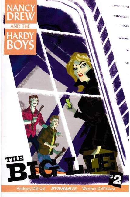 Nancy Drew Hardy Boys #2 Cover B [Dynamite Comic] THUMBNAIL