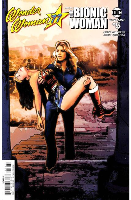 Wonder Woman 77 Bionic Woman #5 Cover A [Dynamite Comic] THUMBNAIL