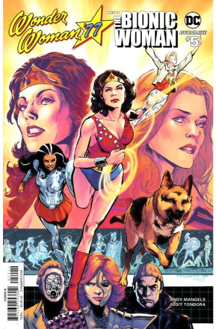 Wonder Woman 77 Bionic Woman #5 Cover B [Dynamite Comic] THUMBNAIL