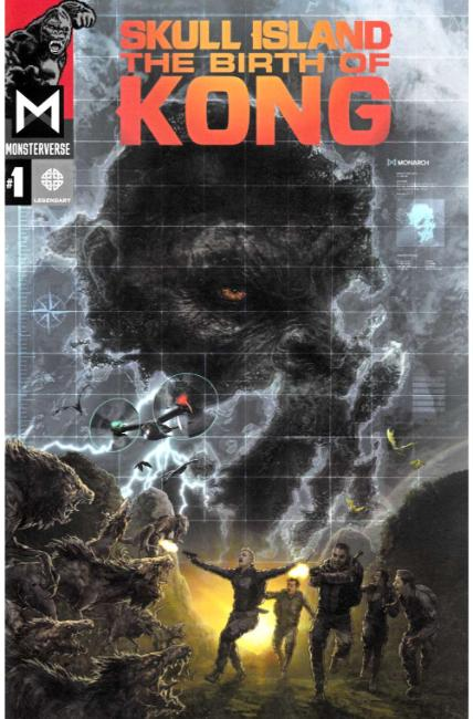 Skull Island Birth of Kong #1 [Legendary Comic]