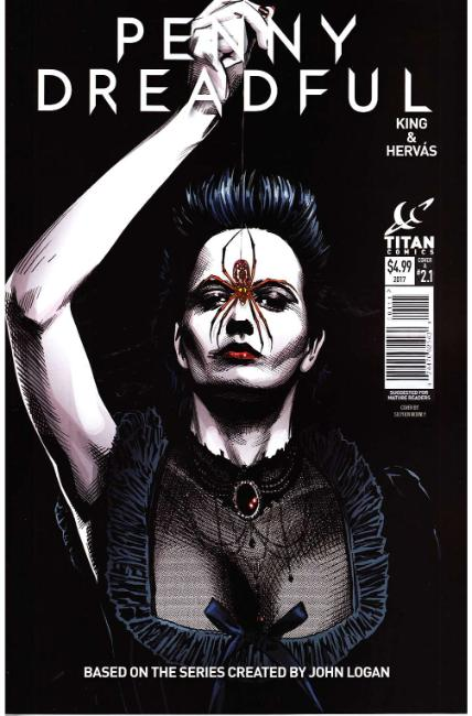 Penny Dreadful #1 Cover A [Titan Comic]