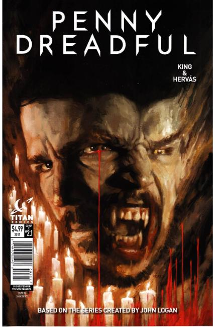 Penny Dreadful #1 Cover E [Titan Comic] THUMBNAIL
