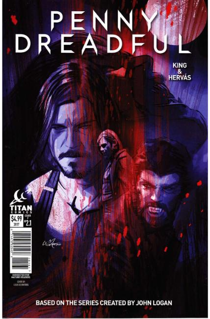 Penny Dreadful #1 Cover F [Titan Comic]