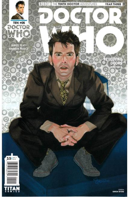 Doctor Who 10th Doctor Year Three #5 Cover A [Titan Comic]