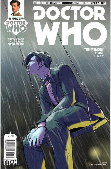 Doctor Who 11th Doctor Year Three #7 Cover D [Titan Comic] THUMBNAIL