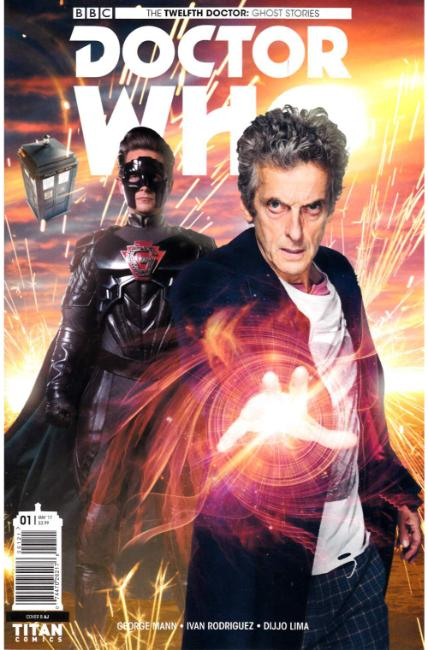 Doctor Who Ghost Stories #1 Cover B [Titan Comic] THUMBNAIL