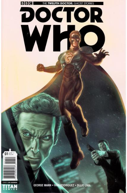 Doctor Who Ghost Stories #1 Cover E [Titan Comic] THUMBNAIL