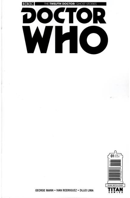 Doctor Who Ghost Stories #1 Cover F- Blank [Titan Comic] LARGE