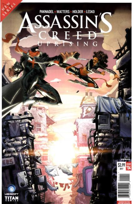 Assassins Creed Uprising #4 Cover A [Titan Comic] THUMBNAIL