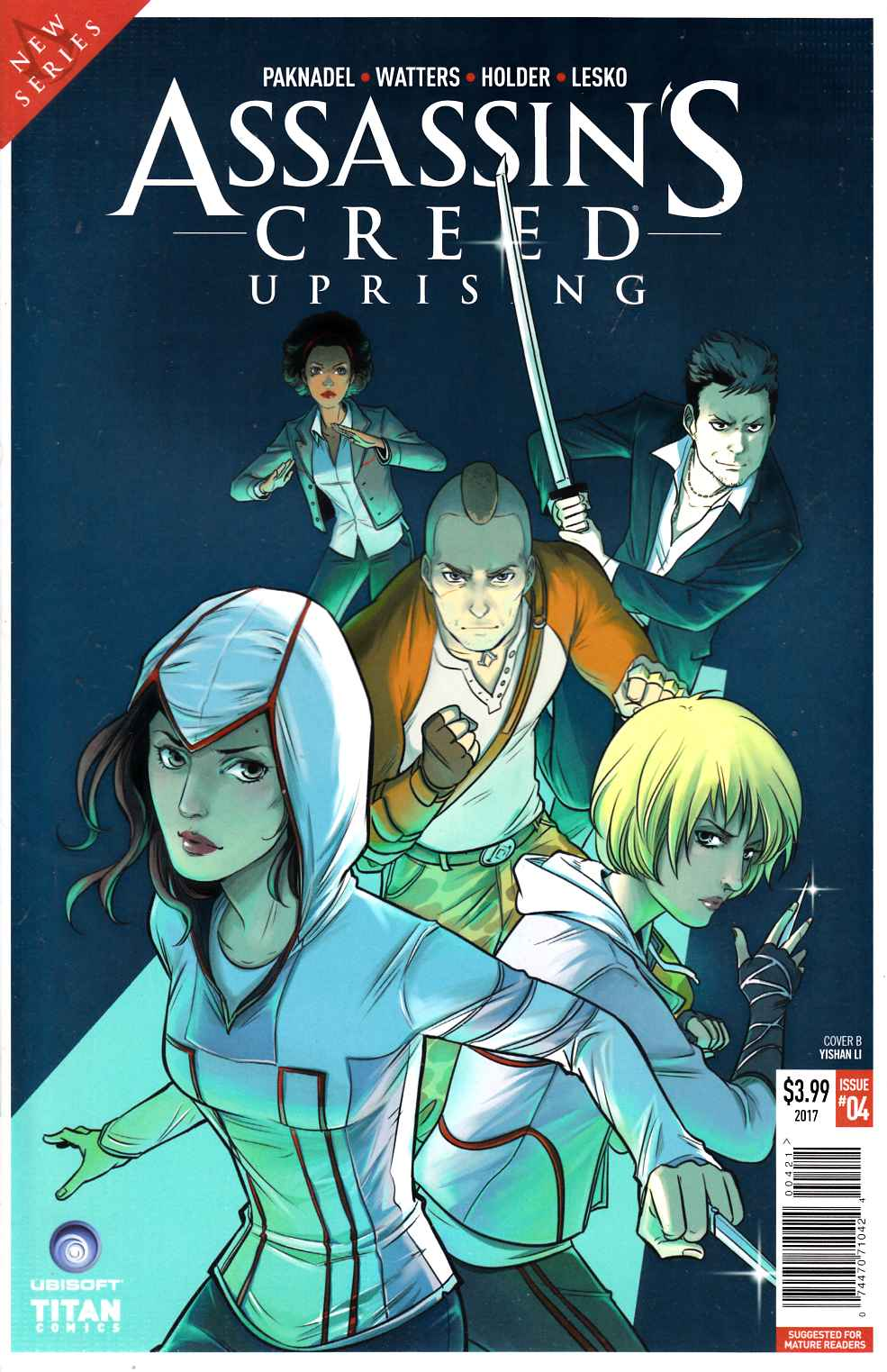 Assassins Creed Uprising #4 Cover B [Titan Comic] THUMBNAIL