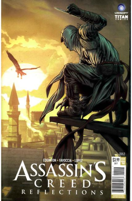 Assassins Creed Reflections #2 Cover A [Titan Comic]