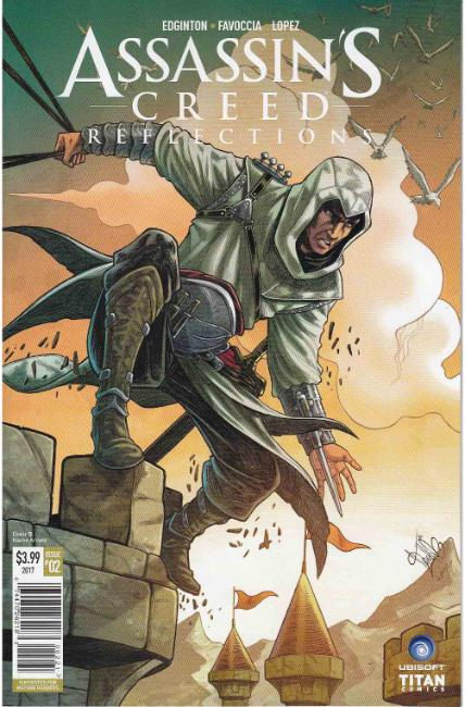 Assassins Creed Reflections #2 Cover B [Titan Comic]