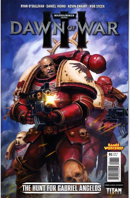 Warhammer 40000 Dawn of War III #1 Cover A [Titan Comic]
