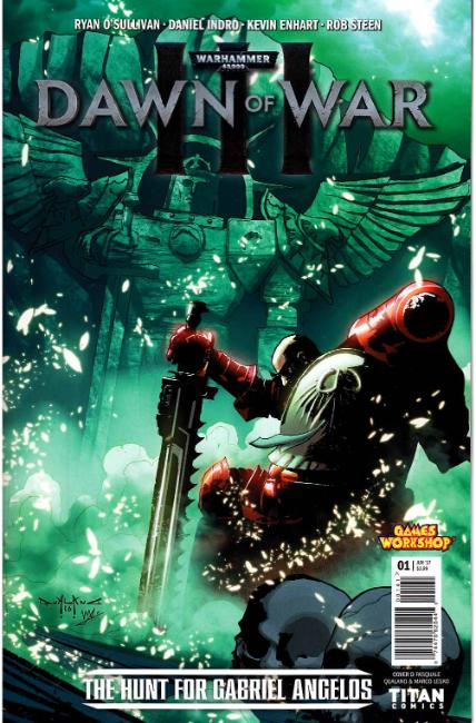 Warhammer 40000 Dawn of War III #1 Cover D [Titan Comic]