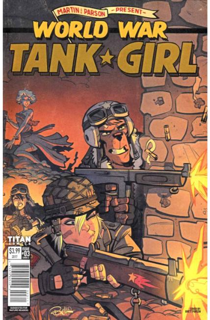 Tank Girl World War Tank Girl #3 Cover A [Titan Comic] THUMBNAIL