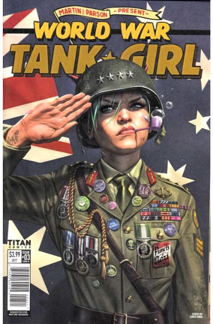 Tank Girl World War Tank Girl #3 Cover B [Titan Comic] THUMBNAIL