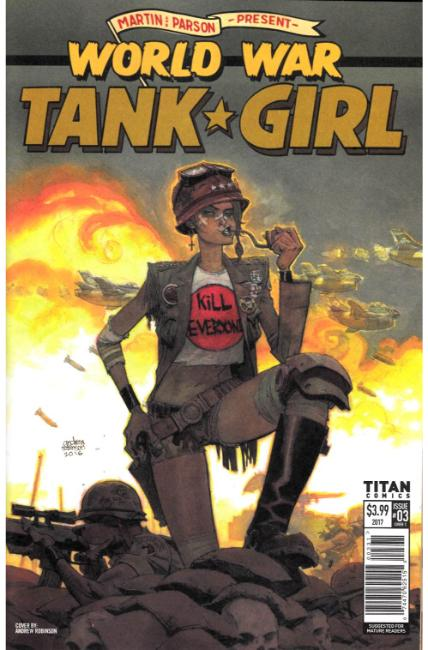 Tank Girl World War Tank Girl #3 Cover C [Titan Comic] THUMBNAIL