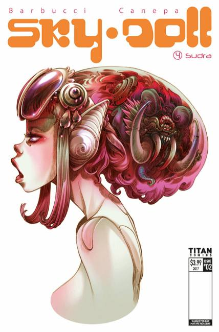 Sky Doll Sudra #2 Cover A [Titan Comic] THUMBNAIL