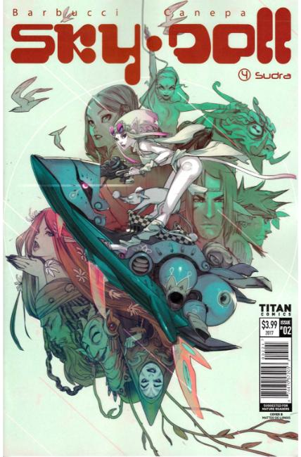 Sky Doll Sudra #2 Cover B [Titan Comic] THUMBNAIL