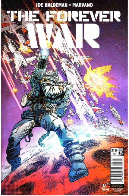 Forever War #3 Cover A [Titan Comic]
