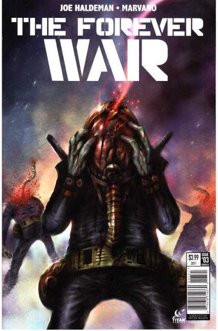 Forever War #3 Cover B [Titan Comic] THUMBNAIL