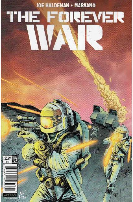 Forever War #3 Cover C [Titan Comic] THUMBNAIL