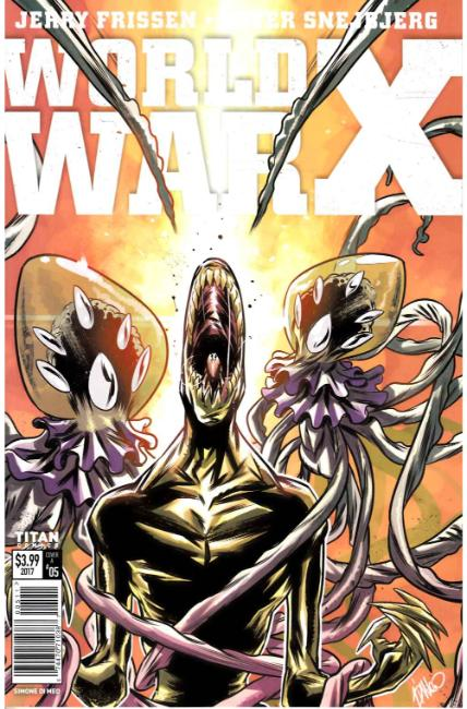 World War X #5 Cover A [Titan Comic]