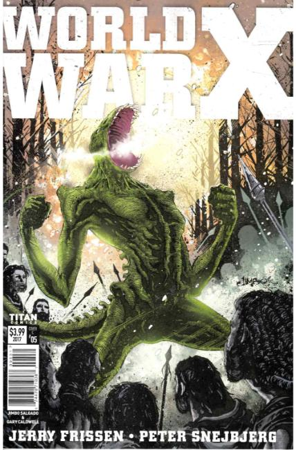 World War X #5 Cover C [Titan Comic] THUMBNAIL