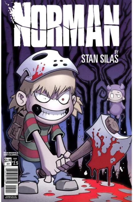 Norman First Slash #5 Cover A [Titan Comic] THUMBNAIL