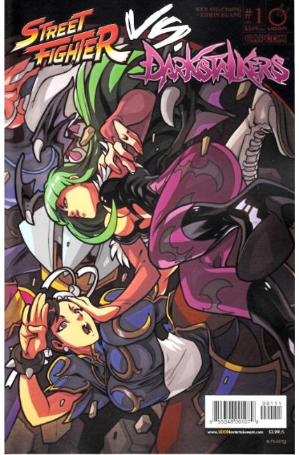 Street Fighter vs Darkstalkers #1 Cover A [Udon Comic]