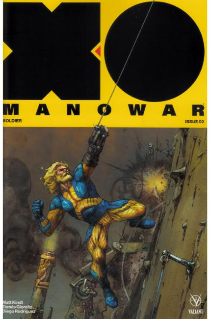 X-O Manowar #2 Cover B [Valiant Comic] THUMBNAIL