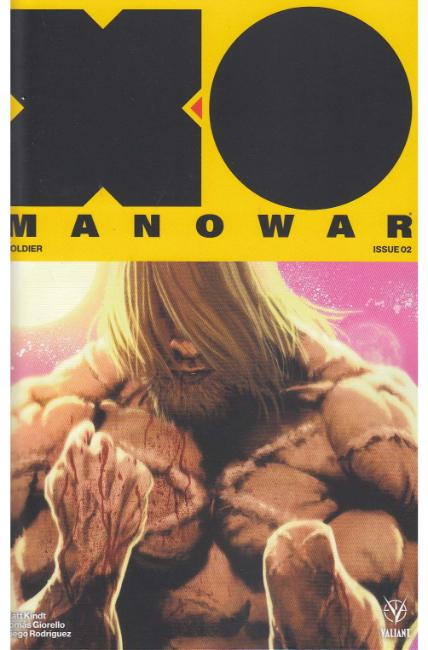 X-O Manowar #2 Cover E- Andrews Variant [Valiant Comic] THUMBNAIL