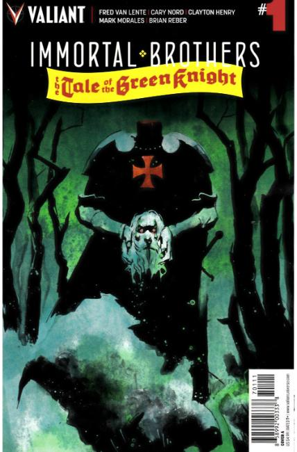 Immortal Brothers Green Knight #1 Cover A [Valiant Comic] LARGE