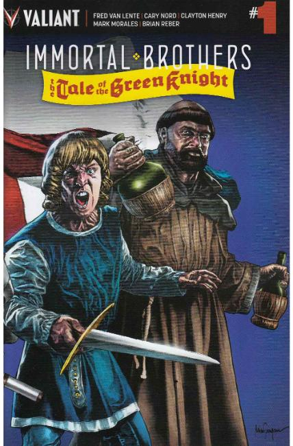 Immortal Brothers Green Knight #1 Cover B [Valiant Comic]_THUMBNAIL