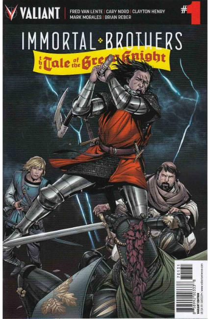 Immortal Brothers Green Knight #1 Cover C- Laming Variant [Valiant Comic]_THUMBNAIL