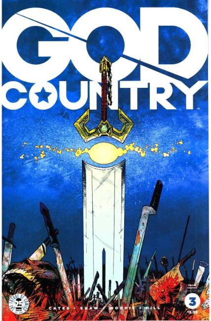 God Country #3 Second Printing [Image Comic] LARGE