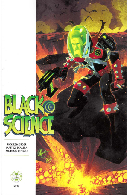 Black Science #30 Cover B [Image Comic] LARGE