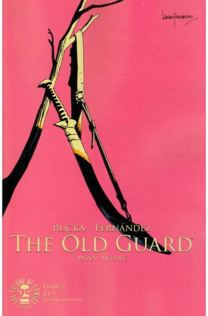 Old Guard #2 Second Printing [Image Comic] THUMBNAIL