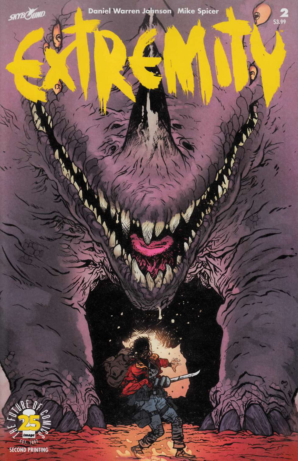Extremity #2 Second Printing Near Mint (9.4) [Image Comic] THUMBNAIL