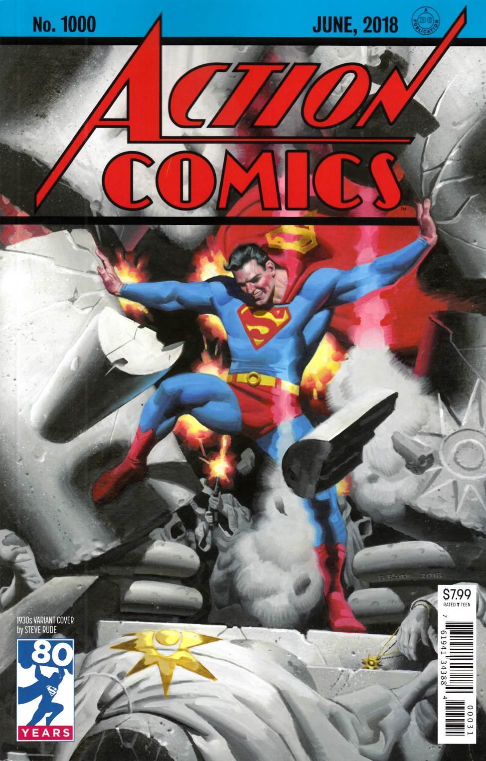 Action Comics #1000 1930s Variant Cover [DC Comic] THUMBNAIL