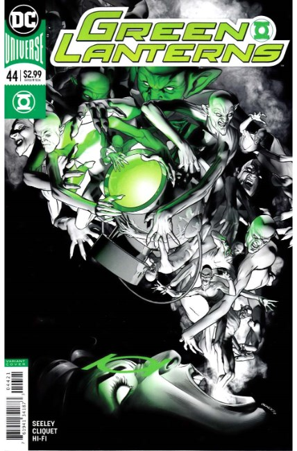 Green Lanterns #44 Peterson Variant Cover [DC Comic] LARGE